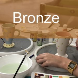 Bronze Paint a Piece | The Ceramic Studio