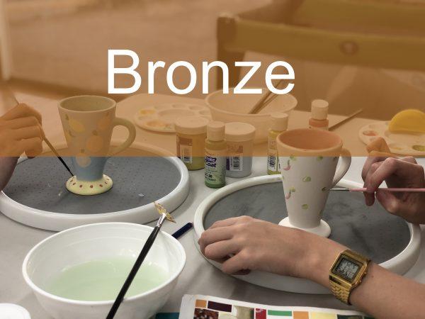Bronze Paint a Piece   The Ceramic Studio