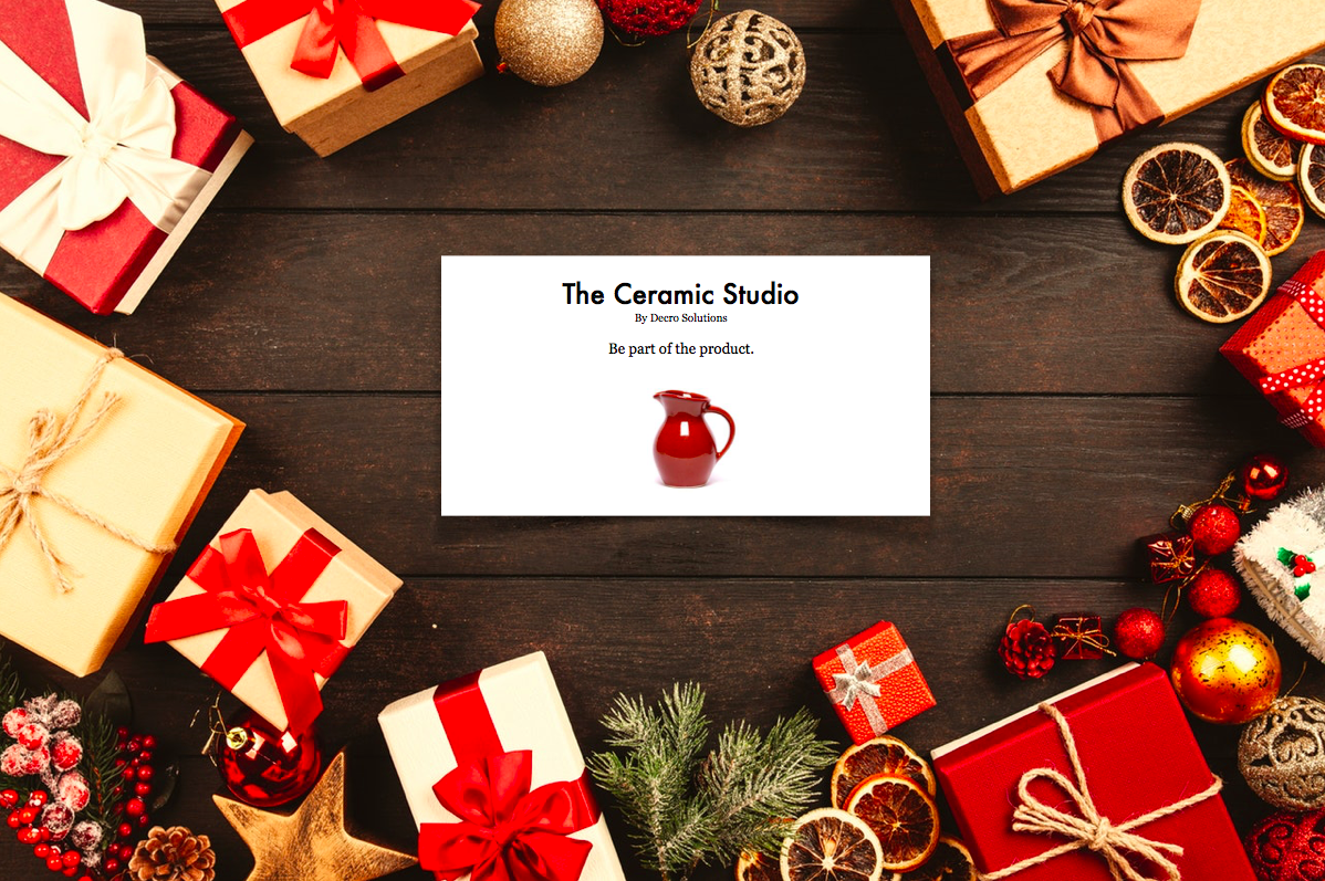 Gift - The Ceramic Studio