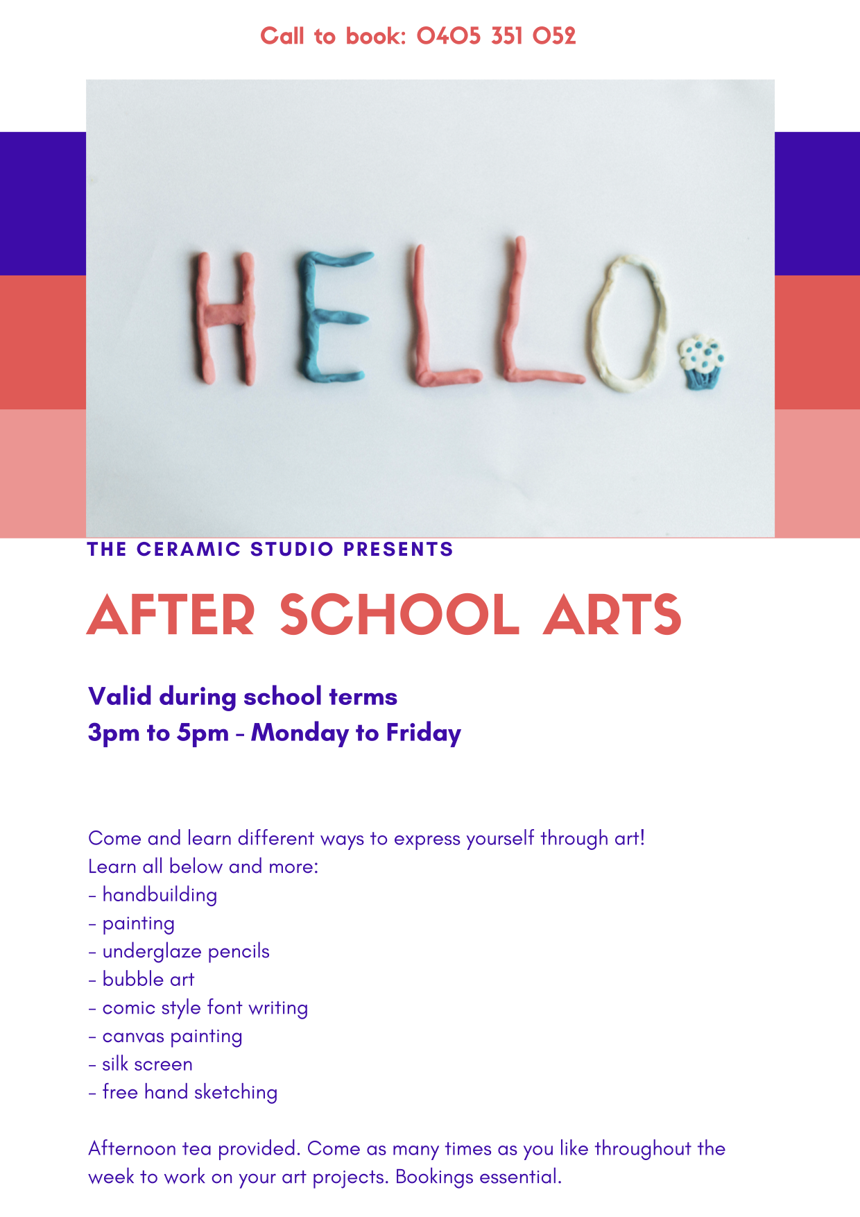 After School Program | The Ceramic Studio