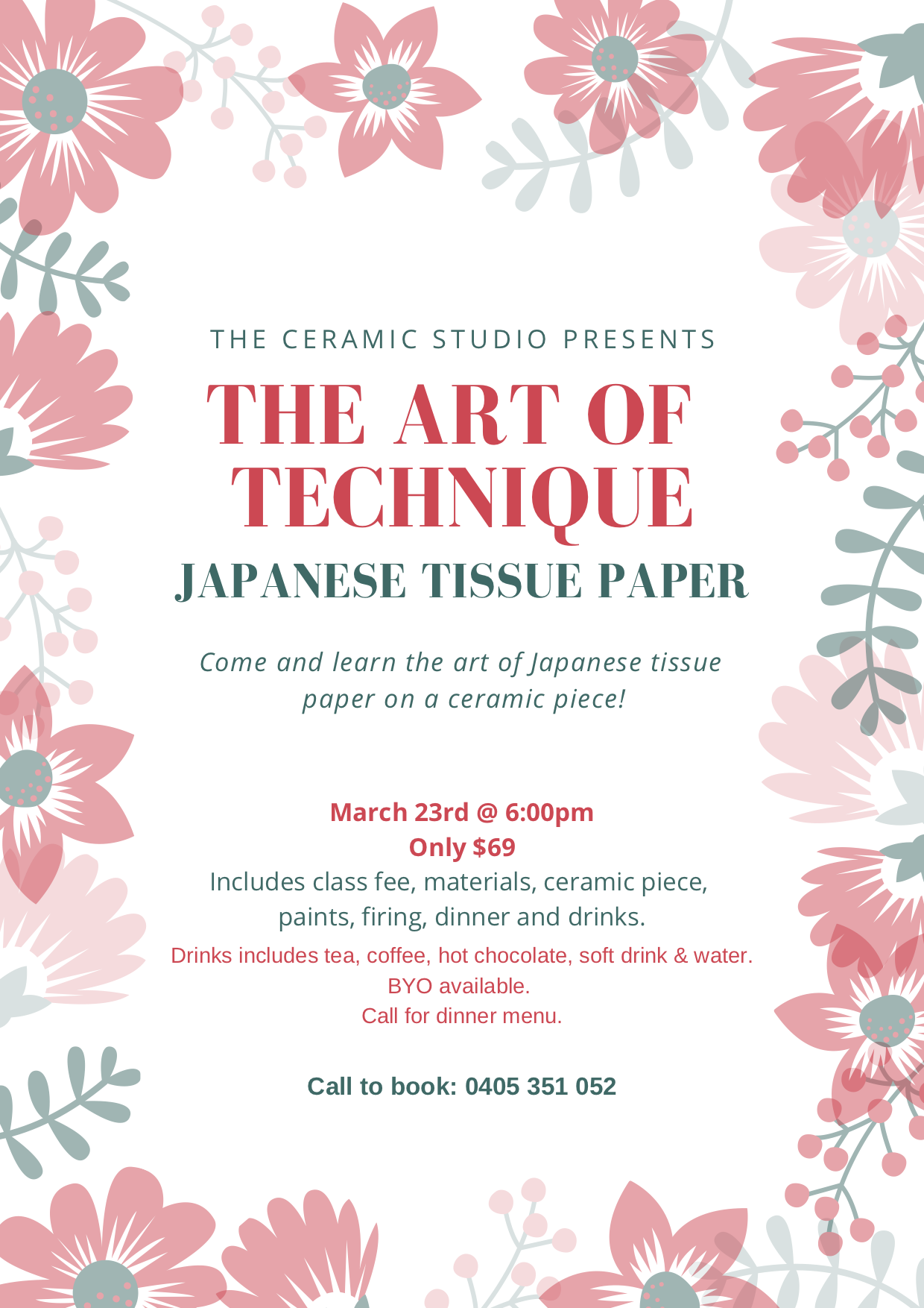 Japanese Tissue Paper | The Ceramic Studio
