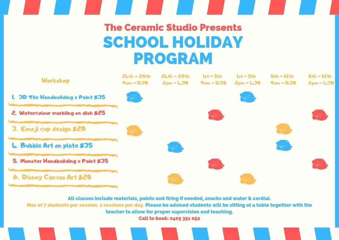 school holiday program july post