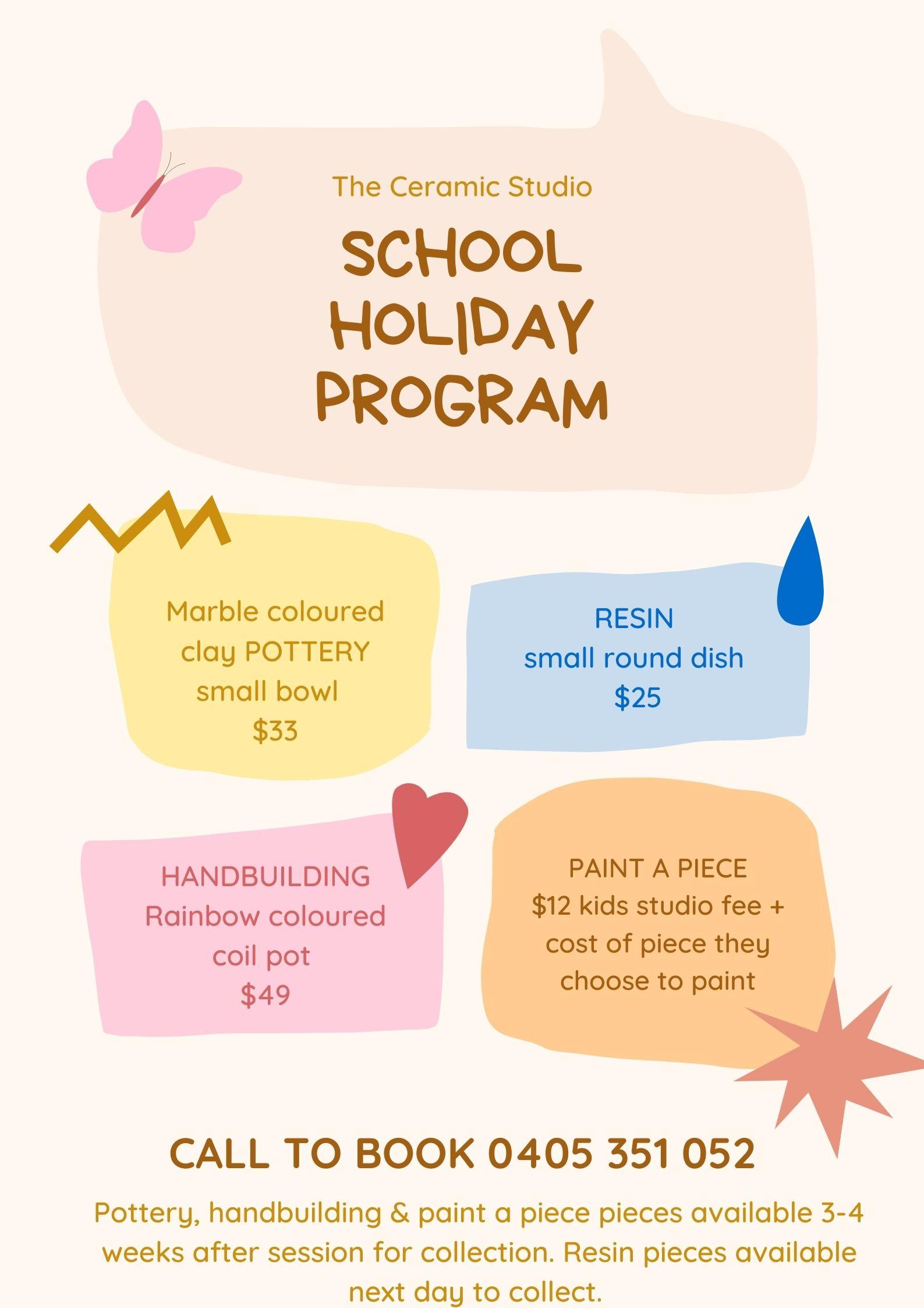 September school holiday program